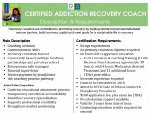 Nycb Peer Recovery Pr Certifications
